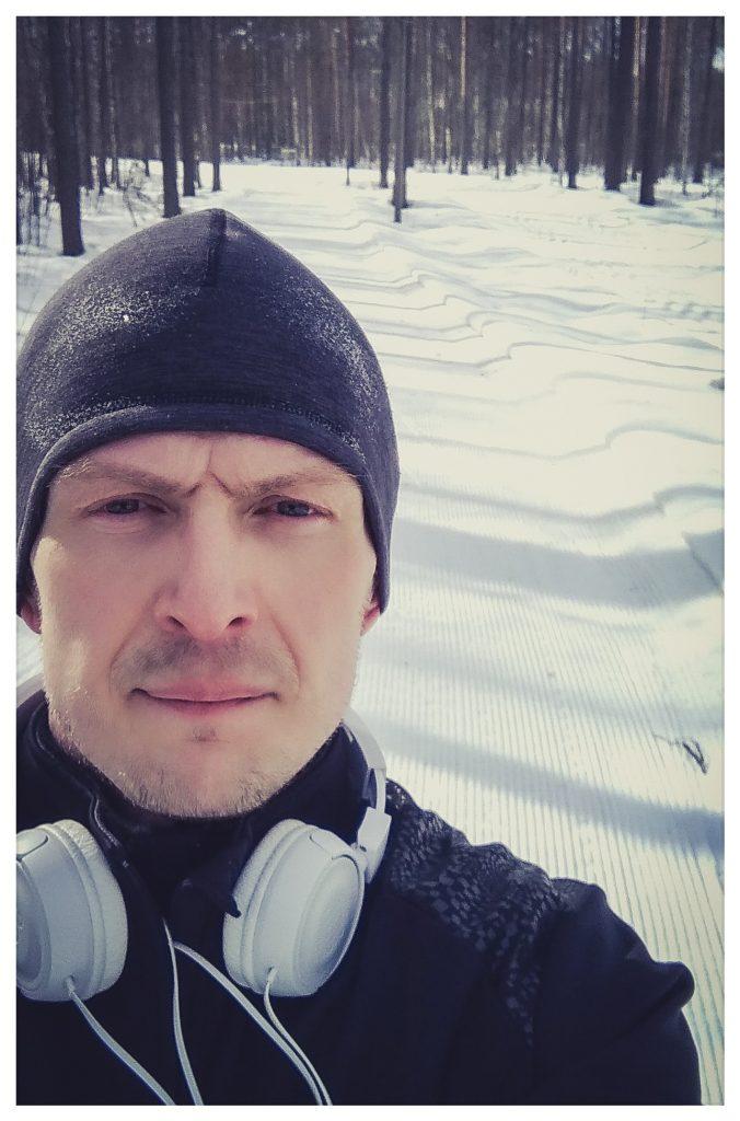 10 км. на беговых лыжах с утреца