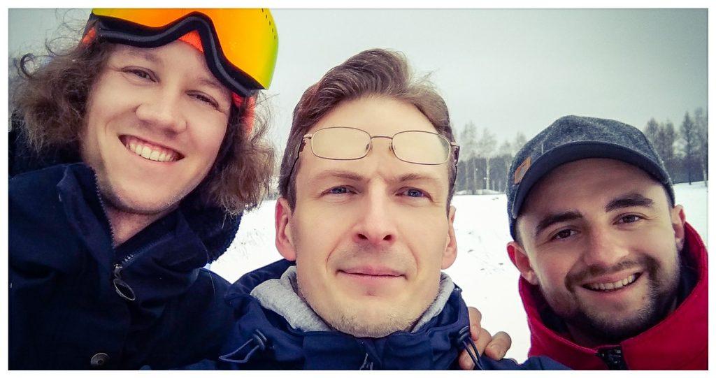 Илия Воскресенский и Алекс Мазуров в Joensuu