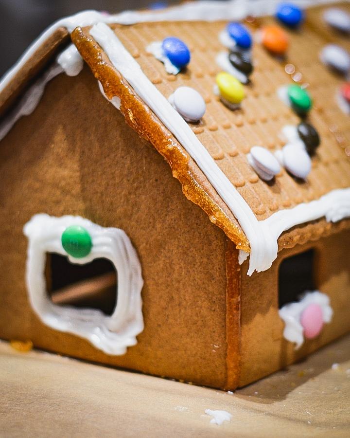 Создание рождественского пряничного домика