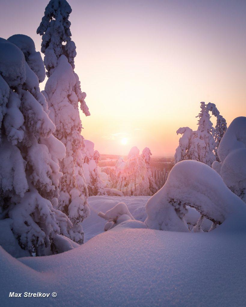 весна в Финляндии
