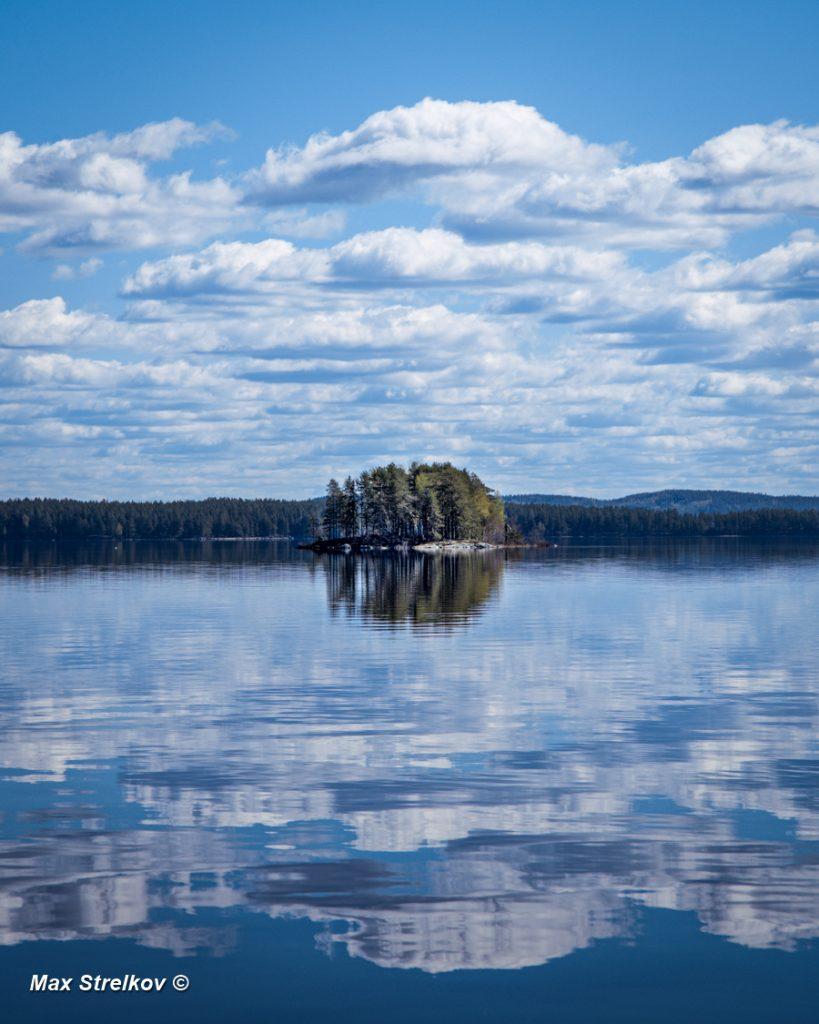необитаемые острова озера Пиелинен