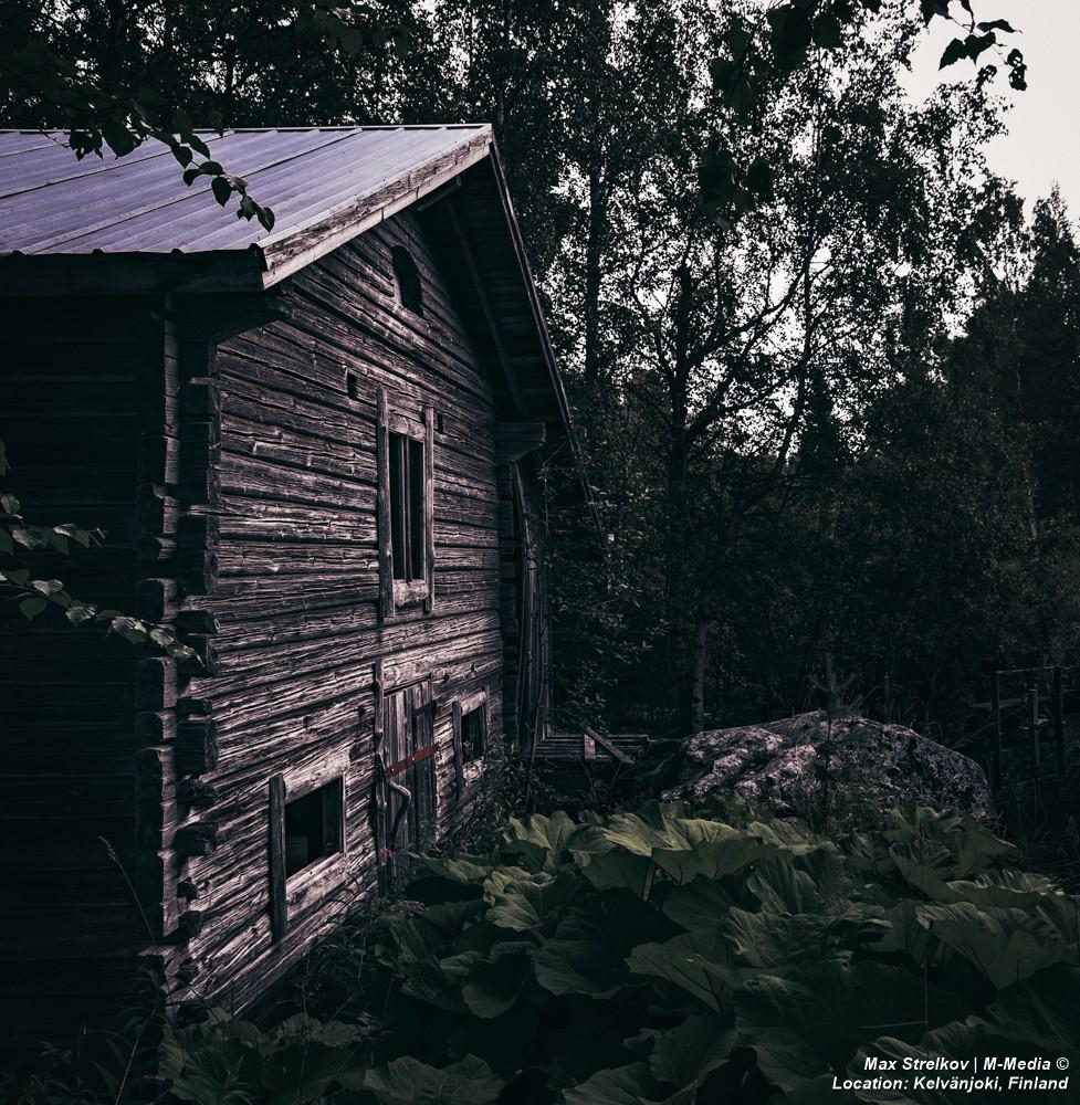 Старая мельница на Kelvänjoki