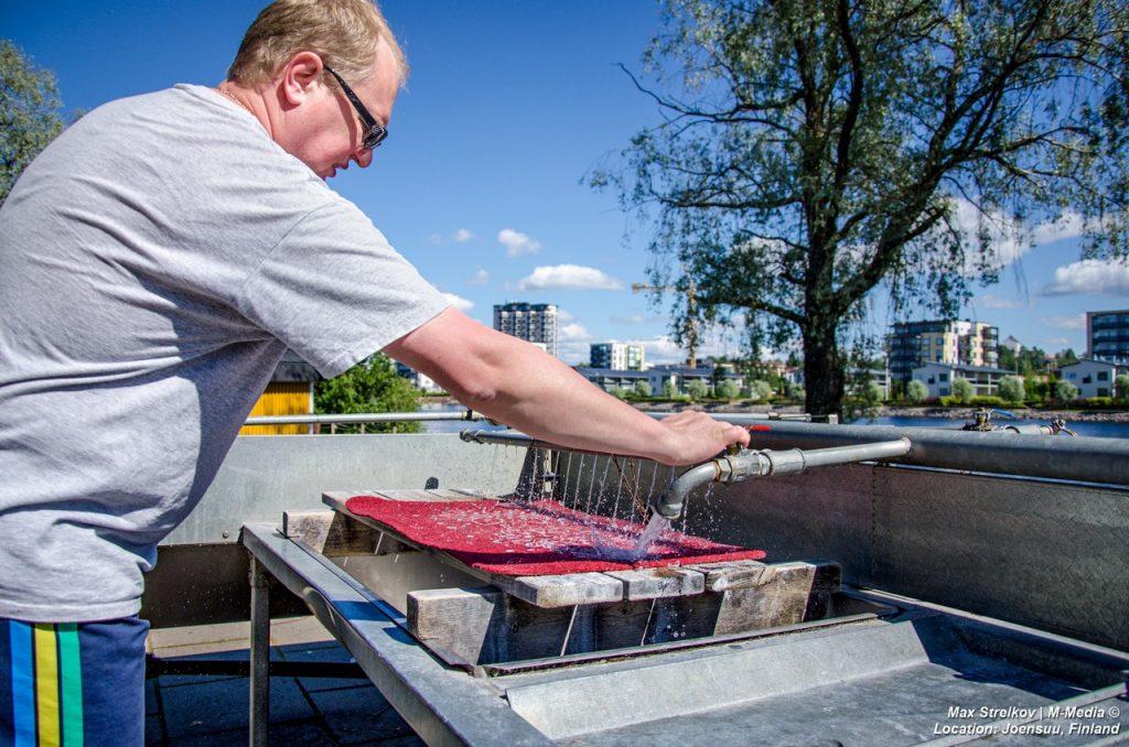 мытье ковров в Финляндии