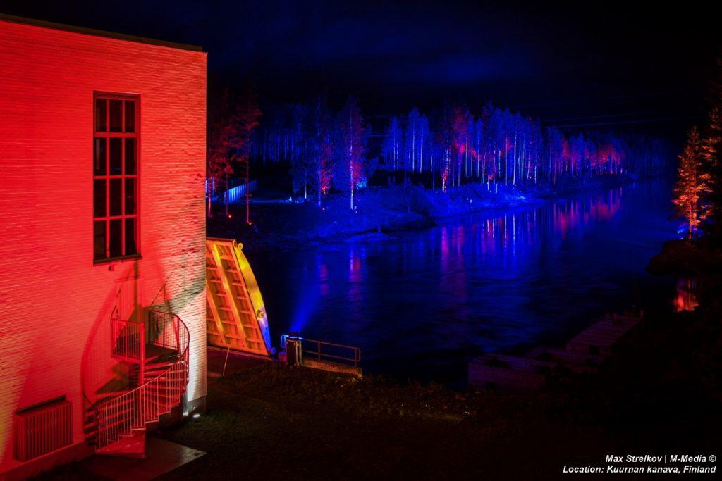 финский мастер световых инсталляций Kari Kola