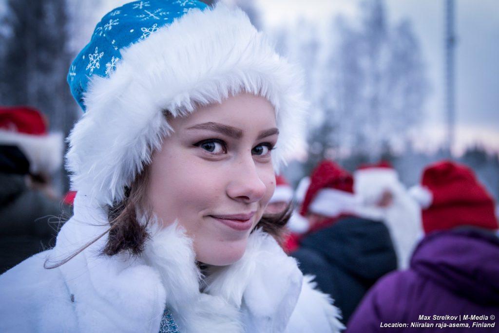 встреча Деда Мороза и Йоулупукки