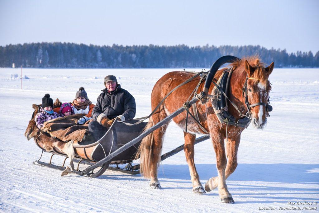 ICE road Koli-Vuonislahti