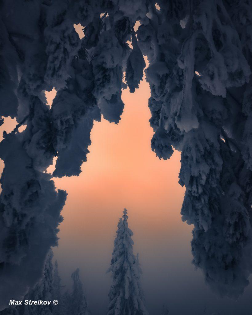 Зима в финской Карелии