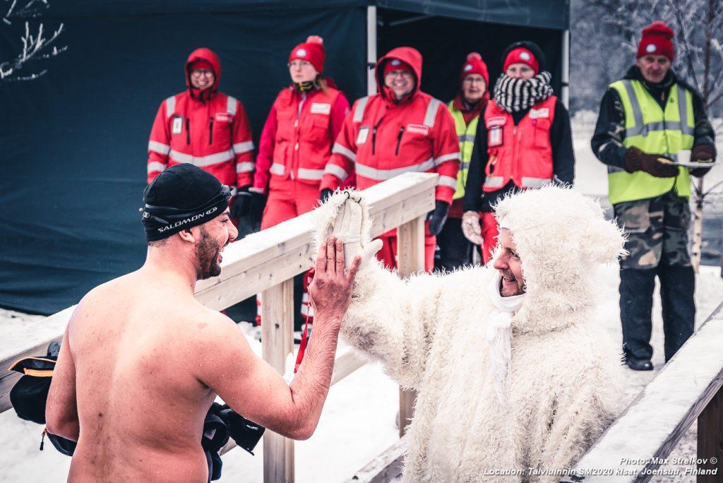 Чемпионат Финляндии по зимнему плаванию 2020