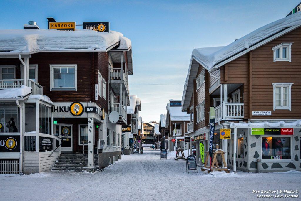 Финский горнолыжный курорт Levi