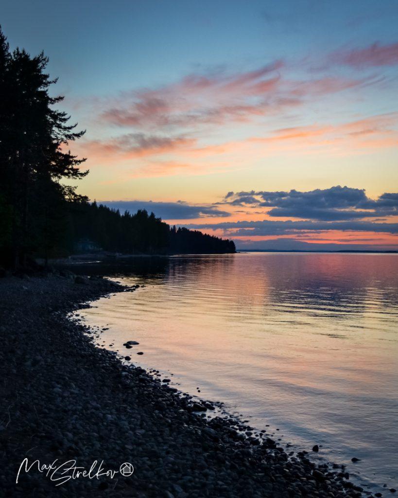 Белые ночи в финской Северной Карелии