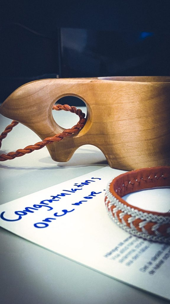 Подарок от оргкомитета Discover Barents