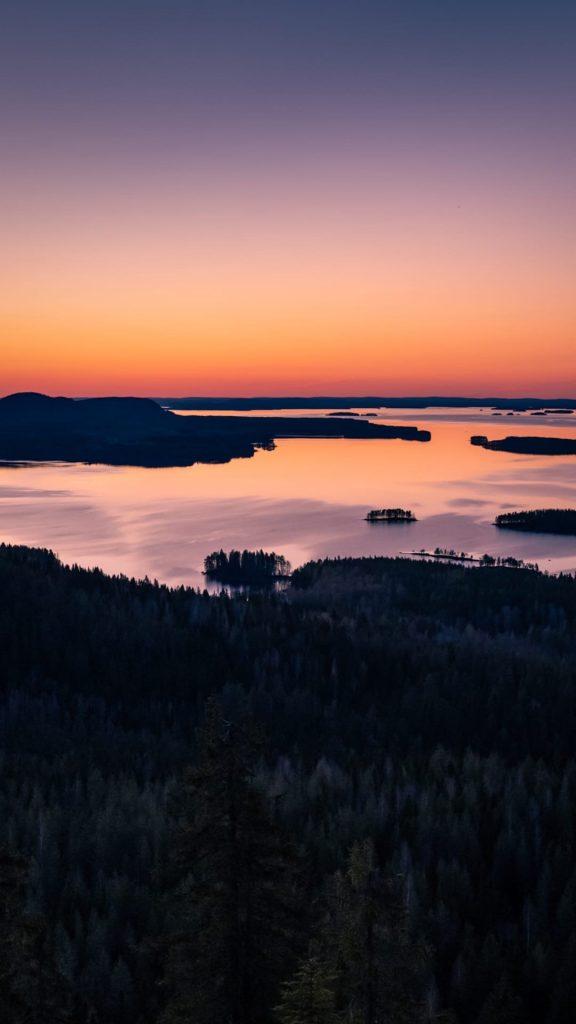 Самый известный в Финляндии закат